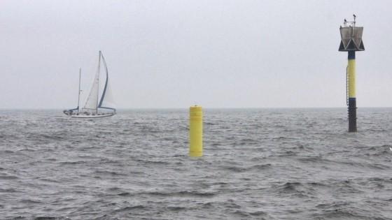 DATA VIA SATELLITE IN OPEN SEA